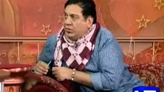 Hasb e Haal - 28 January 2016 | Azizi as Fashion Designer