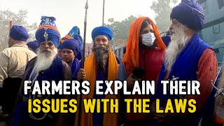 Farmers Explain Their Issues With The Laws ft. Samdish