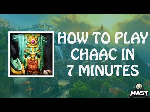 SMITE - How To Play Chaac in 7 Minutes