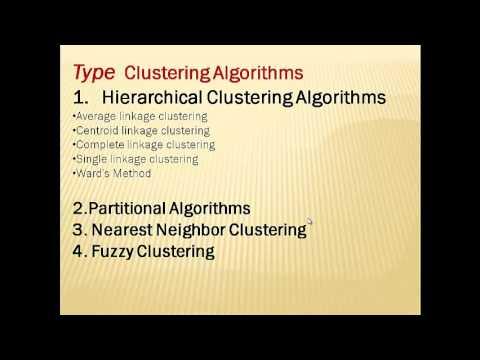 analysis clastaring algorithm 3