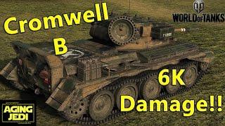 Cromwell B Highest Damage Ever? - World of Tanks