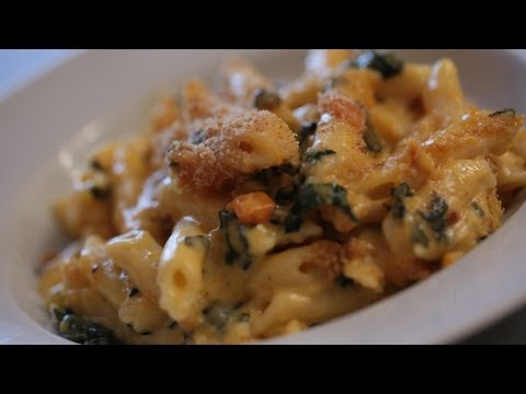 Butternut Squash Mac N' Cheese Recipe || KIN EATS