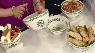 Portmeirion Botanic Garden Nesting Bowls on QVC