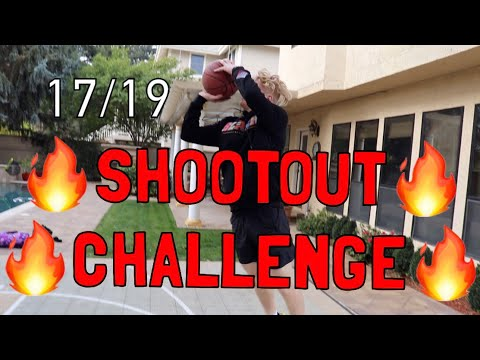 SHOOTOUT CHALLENGE vs MY CAMERAMAN!
