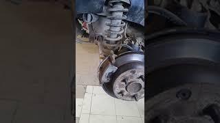 Решение проблемы стука задних суппортов Lancer X
