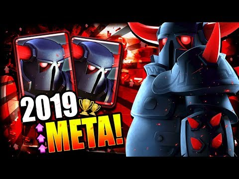 DOMINATE 2019 LADDER w/ OP PEKKA STRATEGY!! EASY ARENA 12 DECK! [2019]