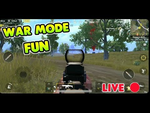 PUBG MOBILE BACK TO BACK WAR+CLASSIC MODE !