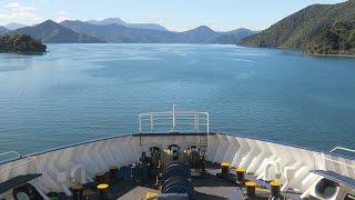 Cook Strait Ferry   Picton to Wellington, NZ