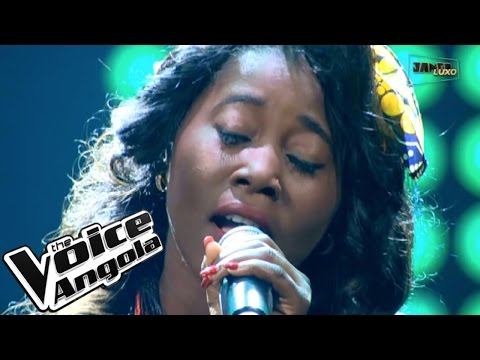 "Teresa Kiala interpreta ""Loliwe"" / The Voice Angola 2015 / Show ao Vivo 2"