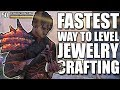 FASTEST WAY to level Jewelry Crafting 1-50 in ESO (Elder Scrolls Online Guide for PC, Xbox One, PS4)