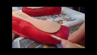 Spitzenschuhe färben | dye pointe shoes