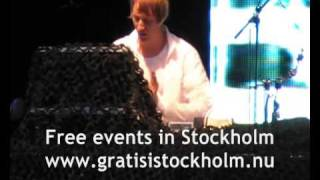 Andreas Tilliander - Back To The USA & Caught In A Riot, Live at Ung08-festivalen 2009, Stockholm