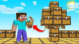 Minecraft But EVERYTHING Is Made Of Chests! (LOOT)