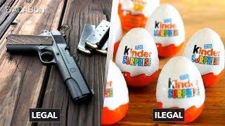 6 Cosas tontas que son ilegales y legales en Estados Unidos