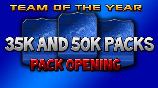 TOTY Midfielders Pack Opening! - Special 35k and 50k Packs! Thumbnail