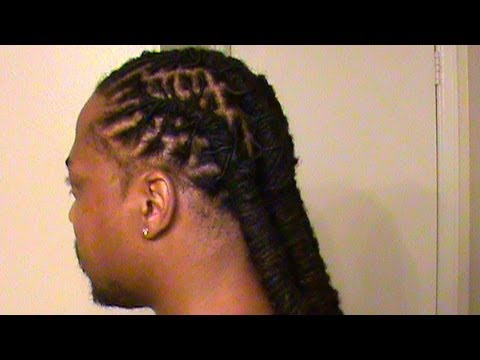 Barrel Twists On DreadLocs