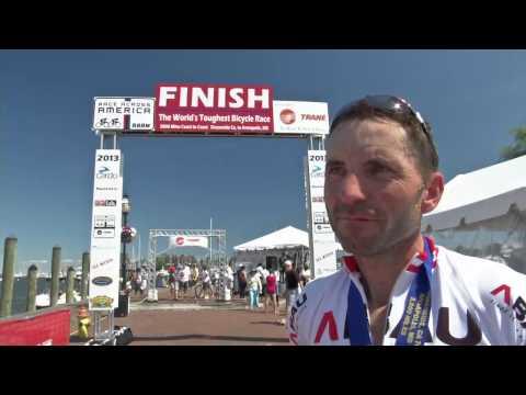 Franz Wintersberger // Race Across America // Zielankunft + Interview