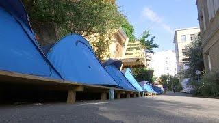 Le seul et unique camping à Paris dans l'ancien hôpital Saint-Vincent-de-Paul