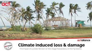 Climate induced loss and damage