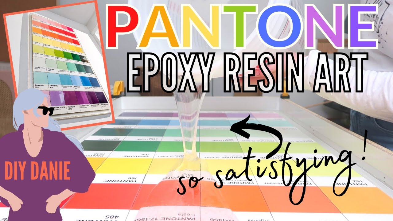 it was time to get over my fear of epoxy resin! | DIY Creative Beast | Ep 1