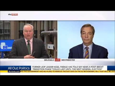 Nigel Farage Takes on Lefty Presenter on Brexit Popularity