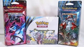 Unboxing: Pokémon TCG - XY: Ancient Origins Booster Box and Theme Decks