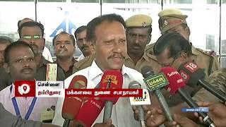 Thambidurai speaks about M.K. Stalin!