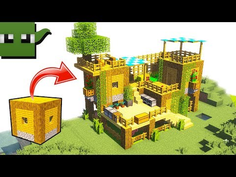 How to Transform Minecraft Village House into a Starter Surv