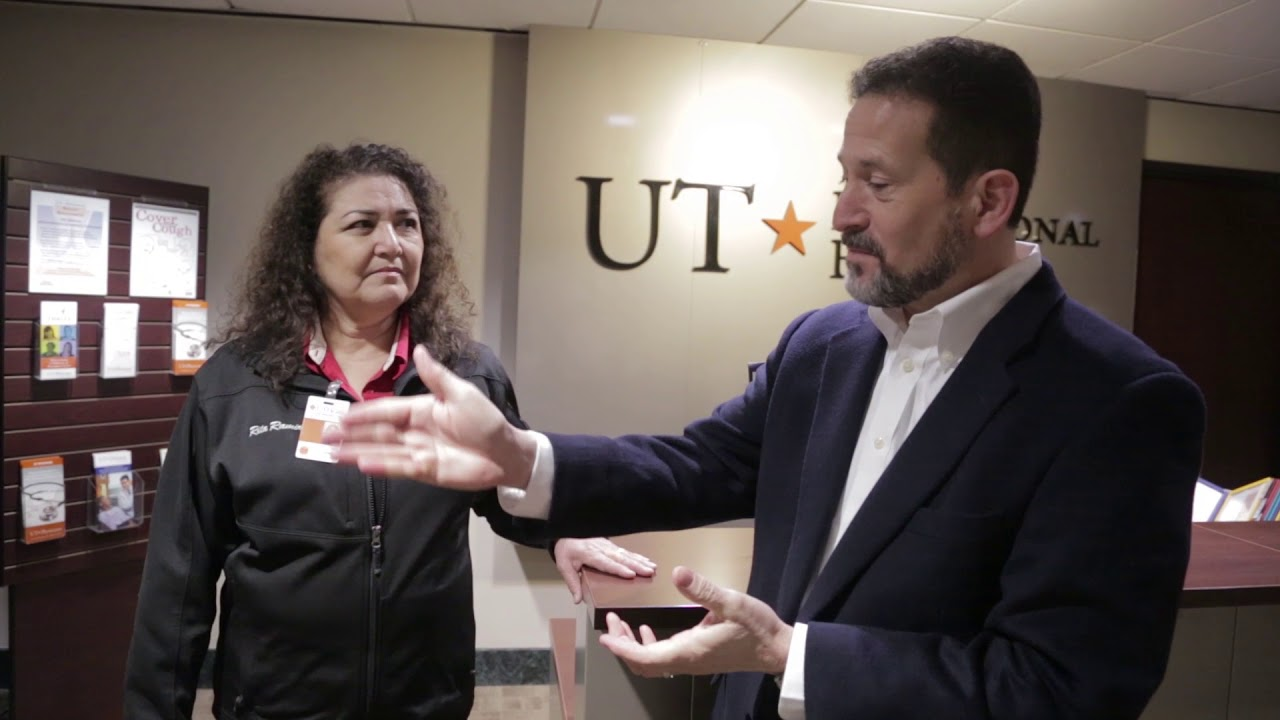 Employee of the Month - UT Physicians November 2017