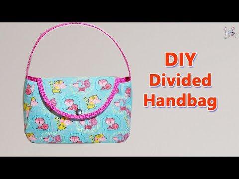 HANDBAG   BAG MAKING    DIY BAG   PURSE MAKING    BAG SEWING TUTORIAL    Bolsa de bricolaje