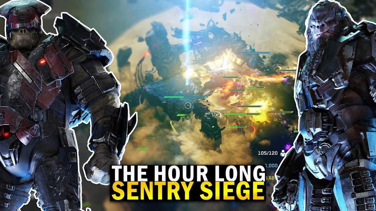 Massive Armies Clash on Sentry! - Halo Wars 2