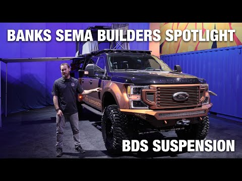 Banks SEMA Builder Spotlight: BDS Suspension 2020 Ford F-350