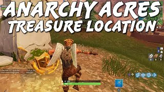 ANARCHY ACRES TREASURE LOCATION! | Where To Find Week 5 Secret Location | Fortnite Tips