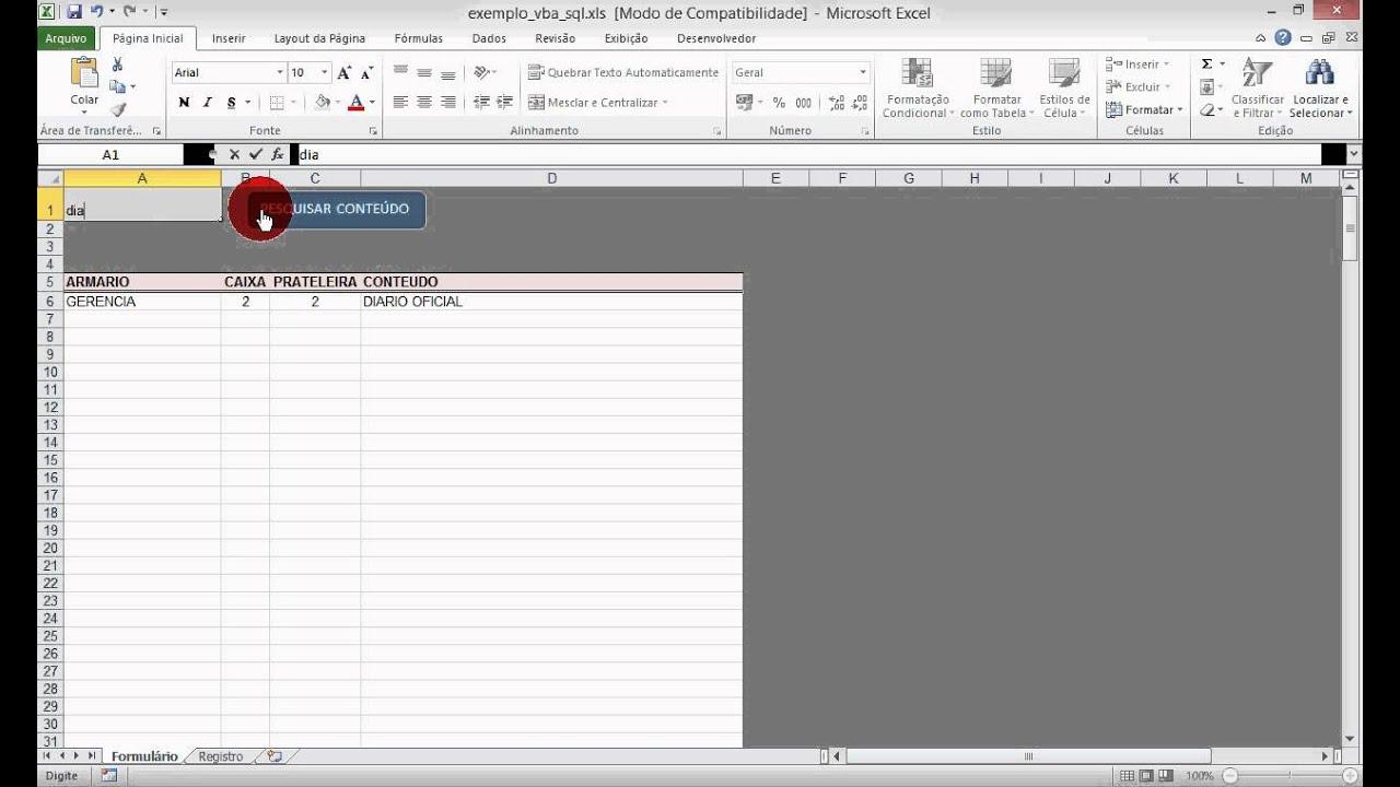 Excel com SQL (Sem banco de dados) | Excel e Vba