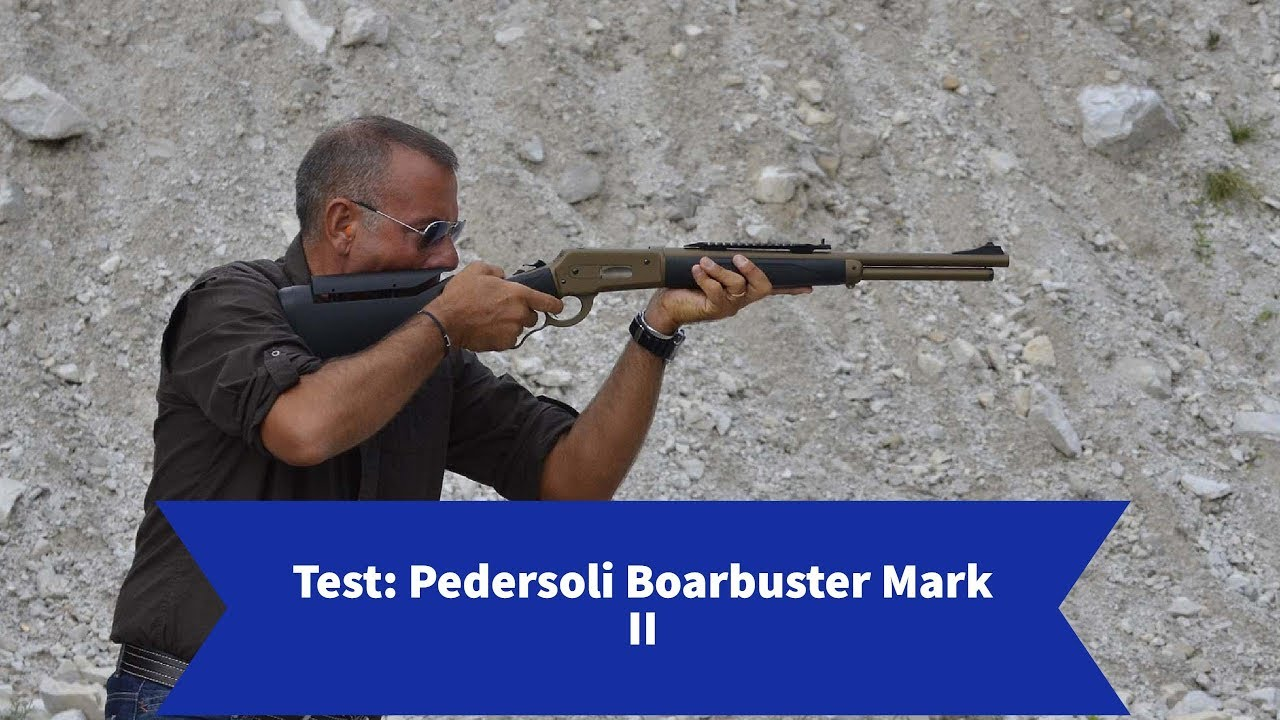 Test: Pedersoli Boarbuster Mark II lever-action rifle,  45