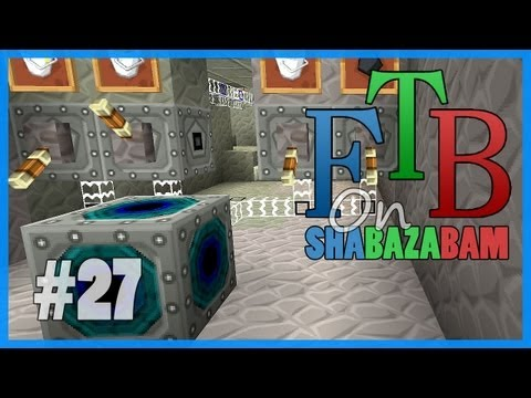 Minecraft FTB - Ep.27 - Matter Fabricator