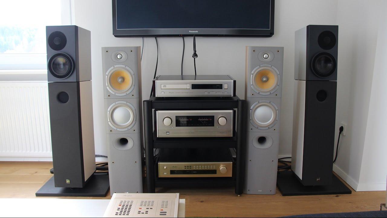 B&W DM 603 S3 und Accuphase E-405 Soundcheck HD - YouTube