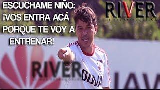 Cierra los ojos - Marcelo Gallardo te esta entrenando en el #RiverCamp