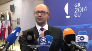 Yatsenyuk: Russia decided to impose a new post-Cold War order