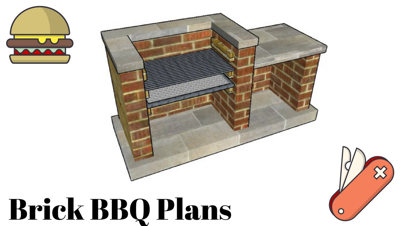 Bbq pit plans youtube for Bbq designs and plans