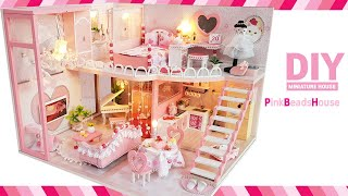 DIY Miniature Dollhouse Kit ㅣP…