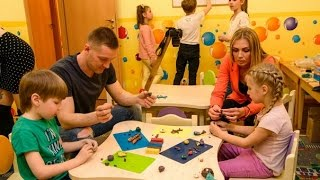 Дети в городе   Школа пластилиновой анимации