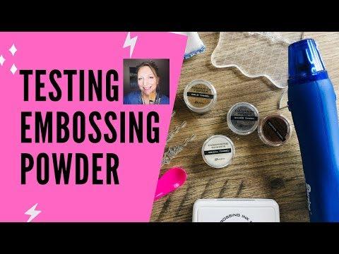 Emboss-it Pens Embossing Magic Pad Embossing Powder Embossing Kit with Heat Tool Bundle 3X Acrylic Stamp Blocks Craft Scoops Embossing Ink Pad