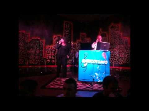 Patrizia canta all' incontro di Roma Karaoke  5