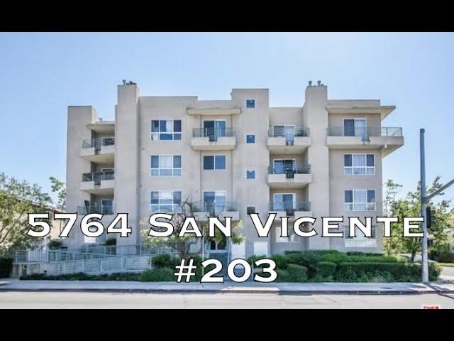 5764 San Vicente #203, Los Angeles CA 90019