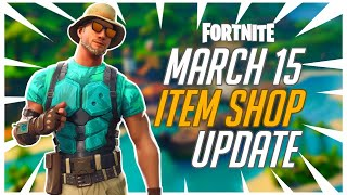 Fortnite Item Shop Update March 15 - Open Lobbies w/ Subs & New Skins - Respawn Van Soon?