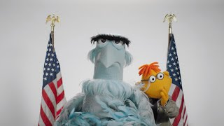 Happy Presidents Day from Sam Eagle and Scooter! | The Muppets