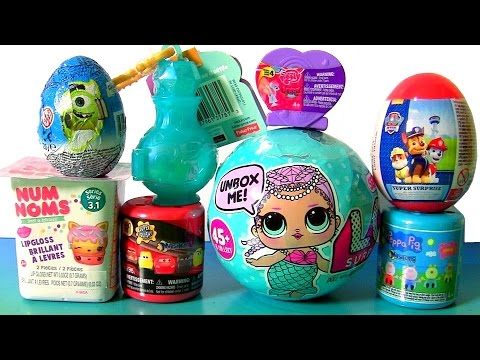 Thumbnail: SHIMMER AND SHINE TOYS SURPRISES Disney CARS 3 MASHEMS LOL MERMAIDS Baby Dolls Peppa Pig Fashems