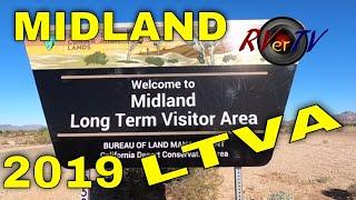Midland LTVA BLM Campground - Blythe Ca.