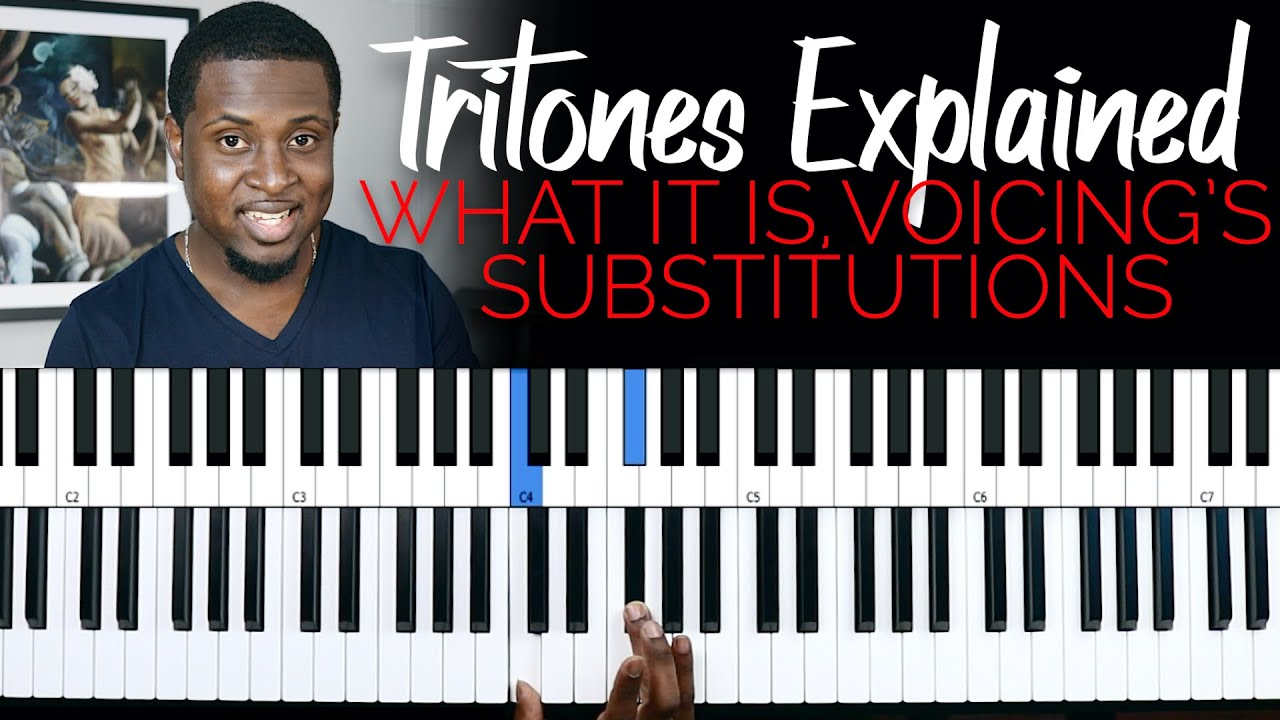 TRITONES EXPLAINED | Substitutions and voicing's